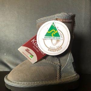 Koalabi Toddler Australian Sheepskin Ugg boots